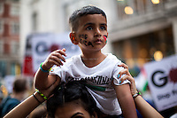 "01.08.2014 - ""London Protest Against Israel's Attacks on Gaza - Free Palestine!"""