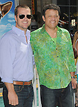 Chris O'Donnell & Paul Rodriguez at the Warner Bros. Pictures World Premiere of Cats & Dogs Revenge of Kitty Galore held at The Grauman's Chinese Theatre in Hollywood, California on July 25,2010                                                                               © 2010 Debbie VanStory / Hollywood Press Agency