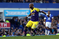 Pictured: Leroy Lita. Sunday 16 February 2014<br /> Re: FA Cup, Everton v Swansea City FC at Goodison Park, Liverpool, UK.