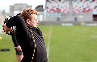 18th March 2021;  Bradley Roberts during Ulster Rugby Captain's Run held at Kingspan Stadium, Ravenhill Park, Belfast, Northern Ireland. Photo by John Dickson/Dicksondigital