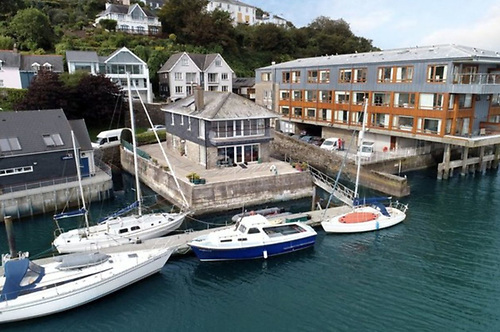 Modern facilities in an area steeped in history – it was here at what is now Edgewater in Kinsale that John Thuillier built boats a very long time ago