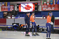 SPEEDSKATING: Calgary, The Olympic Oval, 06-02-2020, ISU World Cup Speed Skating, training, ©foto Martin de Jong