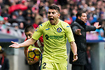 Francisco Portillo Soler (L) of Getafe CF reacts during the La Liga 2017-18 match between Atletico de Madrid and Getafe CF at Wanda Metropolitano on January 06 2018 in Madrid, Spain. Photo by Diego Gonzalez / Power Sport Images