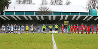Illustrative photo of the line up taken before a female soccer game between FC Femina White Star Woluwe and Sporting Charleroi on the 10 th matchday of the 2020 - 2021 season of Belgian Scooore Womens Super League , Saturday 19 th of December 2020  in Woluwe , Belgium . PHOTO SPORTPIX.BE | SPP | SEVIL OKTEM