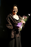 actress Ni Ping who won the best Actress Award  at the Montreal World Film Festival (Festival des Films du Monde de Montreal)  2006<br /> for the Chinese movie SNOW IN THE WIND directed by Yang Yazhou.<br /> That movie also won the Special Grand Prize of the Jury<br /> Photo by Pierre Roussel / Images Distribution