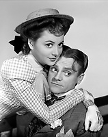 James Cagney and OLivia de Havilland <br /> in the STRAWBERRY BLONDE