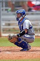 Seton Hall Pirates catcher Mike Alescio (51) during a game against the Indiana Hoosiers on March 5, 2016 at North Charlotte Regional Park in Port Charlotte, Florida.  Seton Hall defeated Indiana 6-4.  (Mike Janes/Four Seam Images)