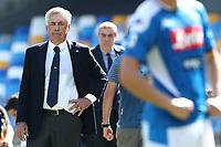 Carlo Ancelotti coach of Napoli looks on<br /> Napoli 29-9-2019 Stadio San Paolo <br /> Football Serie A 2019/2020 <br /> SSC Napoli - Brescia FC<br /> Photo Cesare Purini / Insidefoto