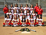 Long Beach State Womens Softball Team photo.