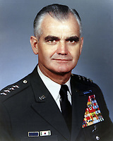 Exact Date Shot Unknown. Circa 1969 - Official photo of Army Chief of Staff GEN William C. Westmoreland , Chief of Staff of the U.S. Army.<br /> <br /> <br /> William C. Westmoreland (March 26, 1914 ñ July 18, 2005) was an American General who commanded American military operations in the Vietnam War at its peak from 1964 to 1968 and who served as US Army Chief of Staff from 1968 to 1972.