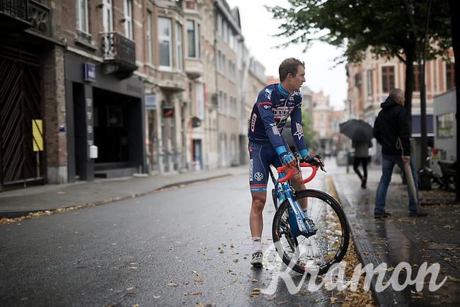 Dimitri Claeys (BEL/Wanty-Groupe Gobert) pre-race<br /> <br /> 50th GP Jef Scherens 2016