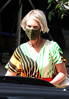NEW YORK, NY - July 14: Cynthia Nixon on the set of the HBOMax Sex And The City reboot series 'And Just Like That' in New York City on July 14, 2021. <br /> CAP/MPI/RW<br /> ©RW/MPI/Capital Pictures