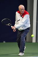 Hilversum, The Netherlands, March 12, 2016,  Tulip Tennis Center, NOVK, Bert Bos  (NED)<br /> Photo: Tennisimages/Henk Koster