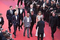 Jean Reno, Charlize Theron, Javier Bardem, Hopper Jack Penn, Adele Exarchopoulos, Sean Penn, Zubin Cooper - CANNES 2016 - MONTEE DU FILM 'THE LAST FACE'