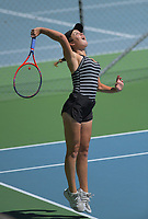 Emma Jane Barclay. 2019 Wellington Tennis Open at Renour Centre in Wellington, New Zealand on Thursday, 19 December 2019. Photo: Dave Lintott / lintottphoto.co.nz