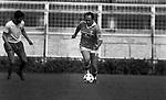 CARLO VERDONE<br /> PARTITA DI CALCIO STADIO FLAMINIO ROMA 1984