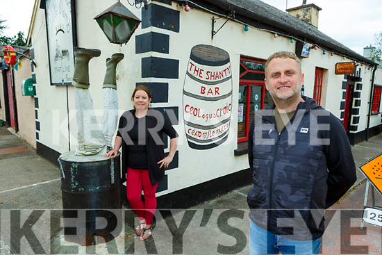 Brian O'Neill who is looking forward to being served by Neasa Kelly in the Shanty Bar Ballyfinnane again when the pubs reopen next Monday