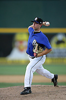 August 30 2009: Steven Geltz of the Rancho Cucamonga Quakes during game against the Stockton Ports at The Epicenter in Rancho Cucamonga,CA.  Photo by Larry Goren/Four Seam Images