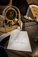 BNPS.co.uk (01202 558833)<br /> Pic: TheTankMuseum/BNPS<br /> <br /> Pictured: The letter.<br /> <br /> A fascinating letter by Field Marshal Bernard Montgomery expressing how he 'thoroughly enjoyed' facing the Desert Fox in battle has emerged 79 years on.<br /> <br /> The British army commander was pitted against the redoubtable Erwin Rommel during the North African desert campaign of 1942.<br /> <br /> The hand-written two page letter, dated October 6, 1942, was penned to his brother Harold while he was preparing for the decisive Battle of El Alamein, which turned the tide in World War Two.