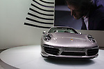December 30, 2011, Tokyo, Japan - Porsche's new 911 Carrera S (type 991) is displayed at the 42nd Tokyo Motor Show. The show opens to the general public from December 3-11. (Photo by Christopher Jue/AFLO)