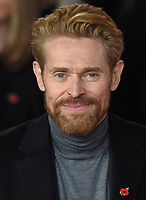 "Willem Dafoe<br /> at the ""Murder on the Orient Express"" premiere held at the Royal Albert Hall, London<br /> <br /> <br /> ©Ash Knotek  D3344  03/11/2017"