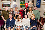 David O'Shea celebrated his 21st birthday in Bunkers Killorglin on Saturday with all his friends and family<br /> Front L-R John O'Shea, Shauna Courtney, David O'Shea, Eileen O'Shea.<br /> Back L-R Andrew Moriarty, Diane O'Shea, Jenna Moriarty standing in front of Ann Marie Lonergan, James Lonergan, Martina Lonergan, Tara Horgan, Dan Horgan.