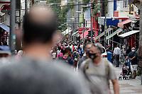 Campinas (SP), 17/12/2020 - Cidades - Movimentação na rua 13 de Maio, no centro da cidade de Campinas (SP), nesta quinta-feira (17). Campinas totalizava até ontem 46.531 casos de contaminação, sendo que 1.419 vieram a óbito.