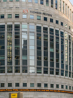 The building of Press Agency Thomson Reuters on Juanary 20, 2019, in London, Italy. (Photo by Adamo Di Loreto/BuenaVista*photo)