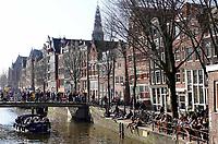 Nederland - Amsterdam-  2019. Oudezijds Voorburgwal.   Foto Berlinda van Dam / Hollandse Hoogte