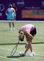 16-6-08, Rosmalen, Tennis,Ordina Open, Michaella Krajicek in haar partij tegen Sugyama