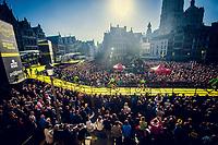 full house for the morning team presentations in the (new) start town of Antwerpen<br /> <br /> 101th Ronde Van Vlaanderen 2017 (1.UWT)<br /> 1day race: Antwerp › Oudenaarde - BEL (260km)