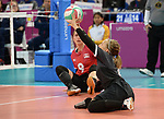 Jolan Wong, Lima 2019 - Sitting Volleyball // Volleyball assis.<br /> Canada competes in women's Sitting Volleyball // Canada participe au volleyball assis féminin. 26/08/2019.