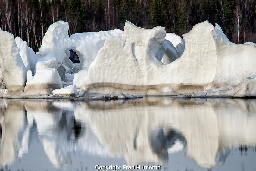 Iceberg in Yellowknife Bay