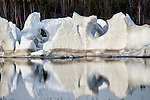 Iceberg in Yellowknife Bay