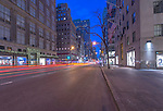 USA, NY, New York, 5th Avenue Dawn