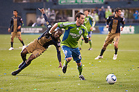 Seattle Sounders FC vs Philadelphia Union March 25 2010