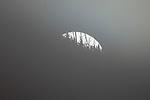 USA, Wyoming, Yellowstone National Park, moonrise