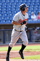 June 11th 2008:  Tyler Henson of the Delmarva Shorebirds, Class-A affiliate of the Baltimore Orioles, during a game at Classic Park in Eastlake, OH.  Photo by:  Mike Janes/Four Seam Images