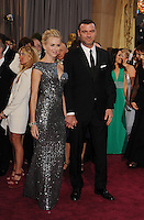 PAP0213JP424.85th Annual Academy Awards - Arrivals .NAOMI WATTS AND LIVE SCHREIBER
