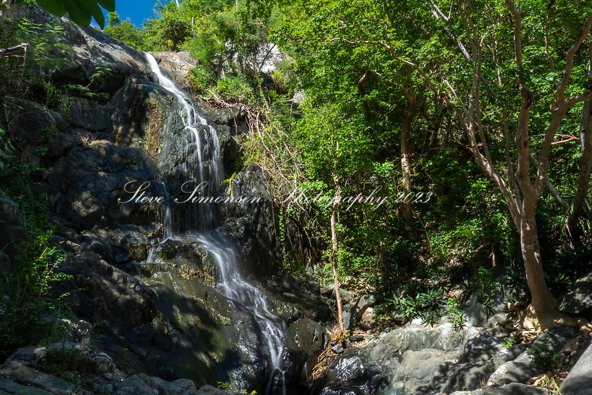 Reef Bay Waterfall<br /> Reef Bay<br /> Virgin Islands National Park<br /> St. John, USVI