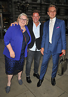 Rosemary Shrager, Matt Tebbutt and guest at the Fortnum & Mason Food and Drink Awards 2021, Fortnum & Mason at the Royal Exchange, Royal Exchange, Cornhill, on Thursday 09th September 2021 in London, England, UK.<br /> CAP/CAN<br /> ©CAN/Capital Pictures