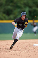 Pittsburgh Pirates Kevin Krause (73) during a minor league Spring Training intrasquad game on April 3, 2016 at Pirate City in Bradenton, Florida.  (Mike Janes/Four Seam Images)