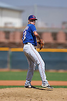 Texas Rangers pitcher Joe Palumbo (62) during an instructional league game against the Los Angeles Angels / Chicago Cubs co-op team on October 5, 2015 at the Surprise Stadium Training Complex in Surprise, Arizona.  (Mike Janes/Four Seam Images)