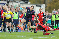 London Scottish Football Club v Hartpury RFC - Match Images - 28.10.17