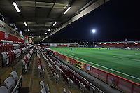 General view of the ground ahead of kick-off during Stevenage vs Dagenham and Redbridge, Johnstone's Paint Trophy Football at the Lamex Stadium, Stevenage, England on 07/10/2015