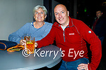Enjoying the evening in Scotts Hotel in Killarney on Saturday, l to r: Shirley and Duncan Minnis from Kemnare.