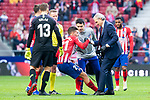 Atletico de Madrid Lucas Hernandez injured during La Liga match between Atletico de Madrid and Deportivo Alaves at Wanda Metropolitano in Madrid, Spain. December 08, 2018. (ALTERPHOTOS/Borja B.Hojas)