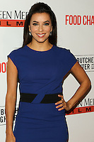 LOS ANGELES, CA, USA - NOVEMBER 13: Actress Eva Longoria arrives at the Los Angeles Premiere of 'Food Chains' held at The Los Angeles Theatre Center on November 13, 2014 in Los Angeles, California, United States. (Photo by Celebrity Monitor)