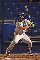 Pittsburgh Panthers first baseman Rick Devereaux #34 during a game against the Michigan Wolverines at the Big Ten/Big East Challenge at Florida Auto Exchange Stadium on February 17, 2012 in Dunedin, Florida.  (Mike Janes/Four Seam Images)