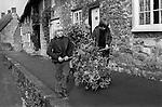 Abbotsbury Garland Day Dorset. My ref 26a/985/,1975,